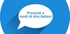 Italiaanse spreekwoorden en gezegden (Proverbi e modi di dire italiani)